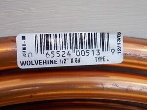 copper pipe, 60 ft. roll of new half inch diameter Prince George British Columbia image 2