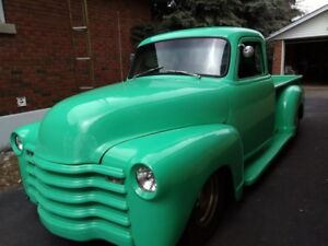 1954 Custom Chevy 5 window short box pickup