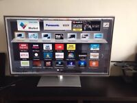 "50"" Panasonic 3D LED smart WiFi full HD freeview built in"