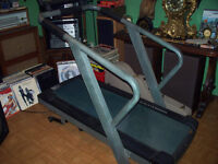 very well built treadmill