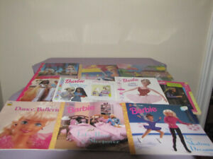 FOR SALE A LOT OF BARBIE BOOKS