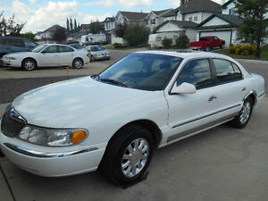 2000 Lincoln Continental Limited Loaded Sedan