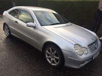 2003 Mercedes compressor coupe 12 months mot