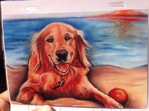 Pet portraits by professional artists*one of a kind