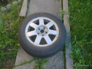 15'' VW ALU RIMS WITH BRAND NEW MICHELIN TIRE