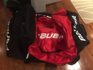 "Brand new- senior 37"" Bauer hockey tower bag"