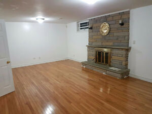 Very spacious Basement for rent near Markham and Lawrence