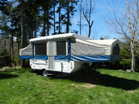Flagstaff 228d by Forest River - loaded Tent Trailer!