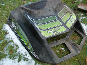 1974 Arctic Cat Snowmobile 400 elTigre hood