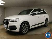 2018 Audi Q7 45 TDI Quattro S Line 5dr Tiptronic 4x4 Diesel Automatic