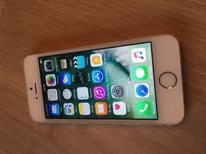 iPhone 5S Gold Telus Koodo public mobile 438-935-1089