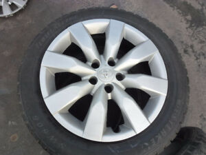 """Two Toyota Hubcaps for 16"""" Rims"""