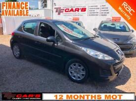 2010 10 REG Peugeot 207 1.4 (5 DOOR) ONLY 48'000 MILES FINANCE AVAILABLE