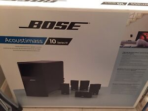Bose Acoustimass 10 series IV 5.1 surround sound system