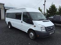 Ford TRANSIT 115 T430 RWD 17 seater 2011 11 reg 44489 miles only with full fsh