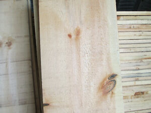 1 x 12 Rough Sawn Pine Barn Board for Board and Batten