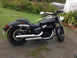 honda shadow fantom 2012