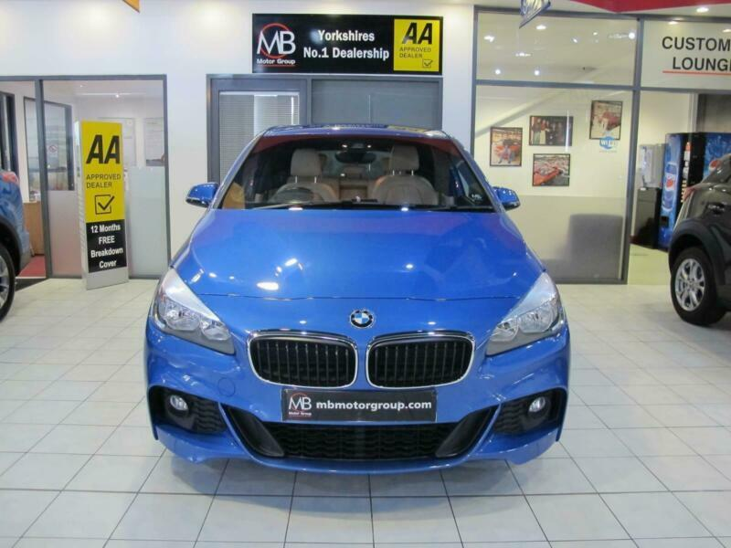 2015 BMW 2 Series 216d M Sport 5dr SAT NAV LEATHER Hatchback Diesel Manual  | in Bradford, West Yorkshire | Gumtree
