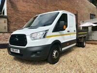 2015 Ford Transit 2.2 TDCi 125ps Double Cab Chassis RWD Crew Cab Tipper Utility