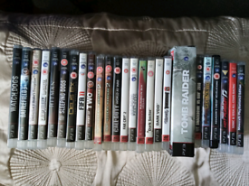PS3 GAMES (SEE BELOW FOR LIST) (ABOUT 50 GAMES)