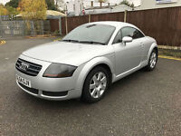 2005 54 Audi TT Coupe 1.8T 180 COUPE 86K LOW MILES FSH RED LEATHER MINT CAR