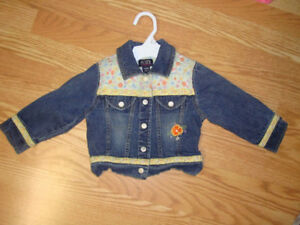 Like New Children's Place Jean Jacket Size 24 months - $8