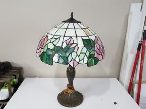 Tiffiny style, real stain glass lamp