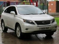 2009 09 LEXUS RX 3.5 450H SE-I 5D AUTO 249 BHP