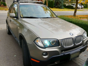 2009 BMW X3 3.0 xDrive AWD, Leather, MoonRoof, clean