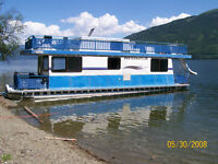 42' Houseboat built by Twin Anchor/Sicamous BC