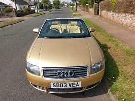 Audi A4 1.8 Cabriolet turbo 2003