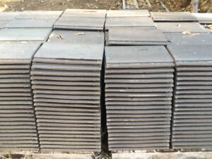 Concrete roof tiles 575 total  new condition !!