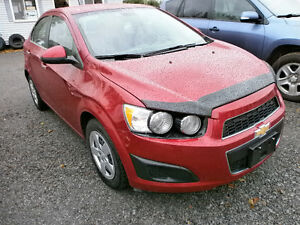 2013 Chevrolet Sonic LT Sedan  59000 KM