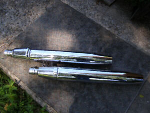 new exhaust pipes