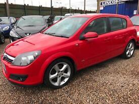 Vauxhall/Opel Astra 2.0i 16v TURBO 170BHP PRE VXR 2006 SRI BRIGHT RED 5 DOOR
