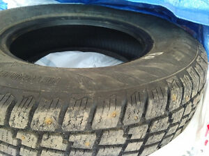 1 y/o Studded Winter Tires 215/75R15