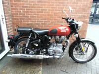 2018 ROYAL ENFIELD BULLET CLASSIC REDDITCH EDITION