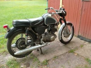 1967 Honda CB77 305 Super Hawk project