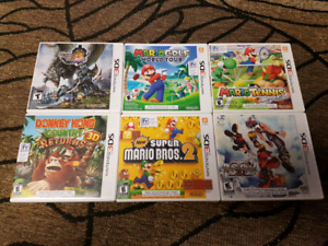 3DS Games Like New