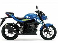 Suzuki GSX-S125 Moto GP NOW AVAILABLE ON SUZUKI'S 7.9% APR HP/PCP FINANCE