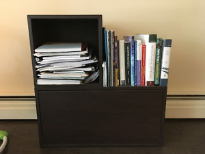 Ikea Valje Cabinet (black brown)