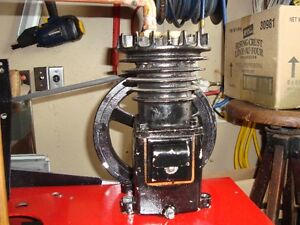 SMALL WEBSTER SINGLE CYLINDER COMPRESSOR PUMP