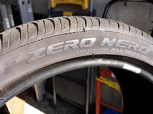 Set of 4 Pirelli P Zero Nero 225/40R18 Tires