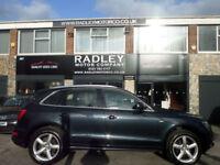 2012 Audi Q5 2.0TDI ( 170ps ) quattro Tronic S Line 5DR 12 REG DIESEL BLACK