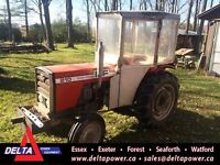 Massey Ferguson 210 2WD Tractor with Cab