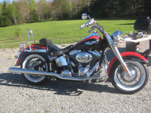 2010 Harley Davidson Softail Deluxe