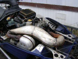 ***600 TWIN SKI-DOO ENGINE TO FIT ZX-CHASSIS***