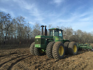 JD 8640 4wd tractor good condition