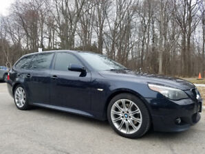 Selling 2007 M-package BMW E61 530XI touring wagon