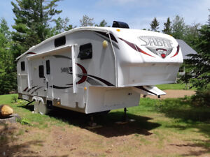 2010 Forest River 5TH wheel Trailer Model 32BHOK